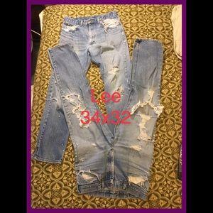 Thrashers/Work Jeans, sz 34x32